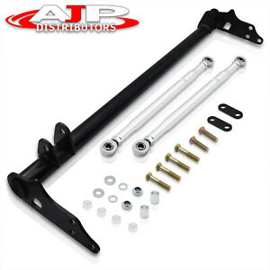 Steel Traction Control Lower Tie Bar Brace Kit For 1988 1991 Honda Civic Ef Crx