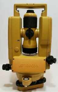 Topcon Dt 200 Series Dt 209 Digital Theodolite With Original Case cdn Seller