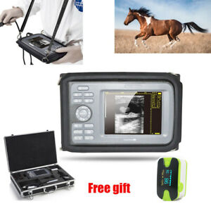 Veterinary Portable Ultrasound Scanner Machine Veterinary Rectal Probe Cow Horse
