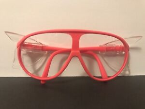 New Bouton Z87 Unisex Safety Glasses neon Pink W Side Shield