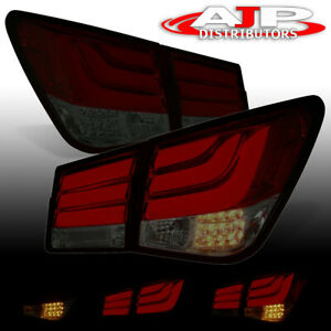 Red Smoke Tube Led Brake Tail Lights Lamps Left right For 2008 2015 Chevy Cruze