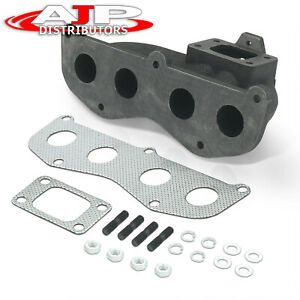 T3 T4 Cast Iron Turbo Exhaust Manifold Racing For Toyota Camry Scion Xb Tc