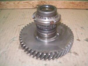 Oliver Super55 550 Farm Tractor Pto Clutch Pack Shaft And Gear