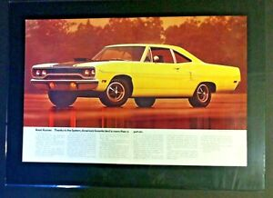 1970 Plymouth Rts Gtx Roadrunner 440 426 383 340 Original Print Car Ad 1969