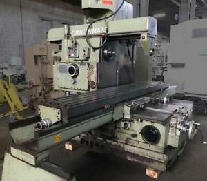 750 20 Cincinnati Verci power Big Heavy Duty Milling Machine Horizontal Mill 50h