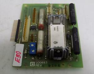 Circuit Board 030663 Rev C