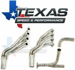 Texas Speed Gm Truck Suv 1 7 8 Stainless Steel Long Tube Headers O R Y Pipe