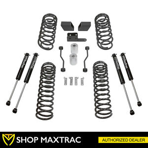 Maxtrac 3 Coil Spring Lift Kit With Shocks Fits 2018 2019 Jeep Wrangler Jl