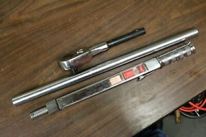 Snap on Tqr 600b Torque Wrench 200 600 Ft lbs 300 800nm Free Shipping