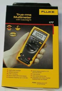 Fluke 177 Multimeter With Tl221 Ac175 Tp88 And C35 Accessories