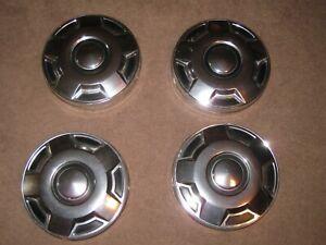 4 Ford Truck Dog Dish Hubcaps Hubcap Automotive Parts
