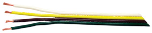 Ribbon Cable gpt 4 16 Ga flat 100ft Roll pack Of 1