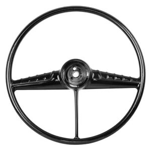 For Chevy Truck 1954 1956 Dynacorn 3 Spoke Standard Black Steering Wheel