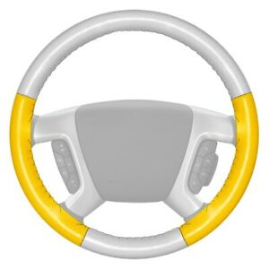 For Dodge Ram 3500 94 97 Steering Wheel Cover Eurotone Two color White Steering