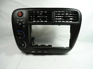 1999 2000 Honda Civic Oem Radio Trim Benzel With Climate Control