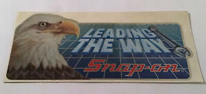 Snap On Tools Vintage Decal Leading The Way Ssx 1214