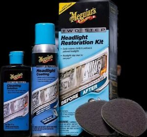 2 Pack For 58 Meguiars 2 Step Headlight Restoration Kit Ships To Hi Pr Ak Gu