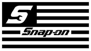 Snap On American Flag Vinyl Decal Bumper Sticker Toolbox Windows Outdoors