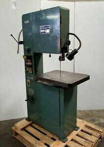 18 Vertical Band Saw Model Kb 45 Made In Taiwan Nice