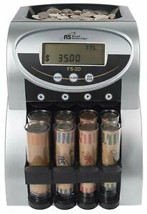 Electric Coin Counter Sorter Machine Digital Lcd Money Counting Display Single
