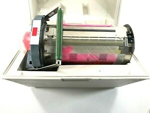 Risograph Ink Drum Riso Red Color Old Ink W Case Untested Parts Repair Only