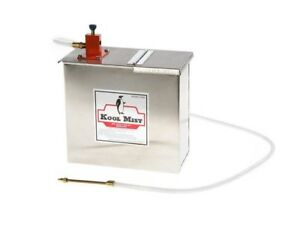 Kool Mist Misting System With Stainless Steel Tank 1 Outlet 3 Gallon