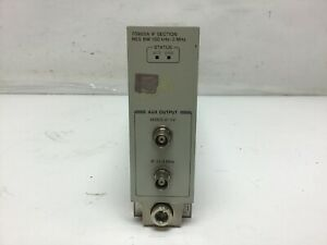 Hp Agilent 70903a If Section 70000 Series Resolution Bandwidth Tested