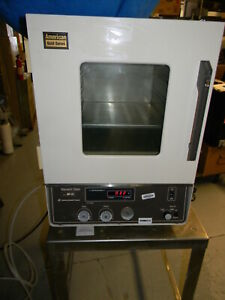 American Scientific Dp 31c Vacuum Oven W Small Pump Tested 1 Shelf