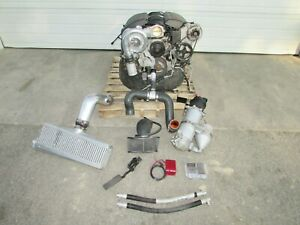 2010 2013 C6 Corvette 6 2l Ls3 Engine liftout Vortech 170 Hp Supercharger Runs