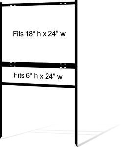 5 pack 18 X 24 Real Estate Yard Sign Frames Free Shipping