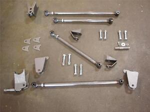 1928 1929 1930 1931 Ford Model A Rear Triangulated 4 Bar Four Link Kit 4 Link