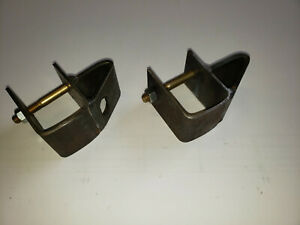 Set Of Steel Hay Wagon Gate Components