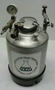 Alloy Products 316 Stainless Steel Pressure Tank 140 Psi 20 To 100 Degrees F