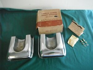 Nos 1959 1958 Ford Exhaust Deflector Galaxie Fomoco 59
