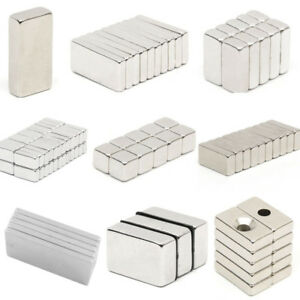 Super Strong Block Magnet Neodymium Rare Earth Magnets N50 N52
