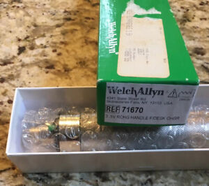 New Welch Allyn 71670 3 5v Rechargeable Desk Charger For Otoscopeophthalmoscope