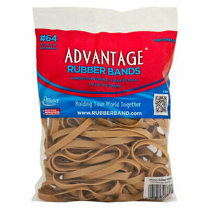 Advantage Rubber Bands Postal Size 64 3 1 2 X 1 4 Heavy Duty Alliance Rubber