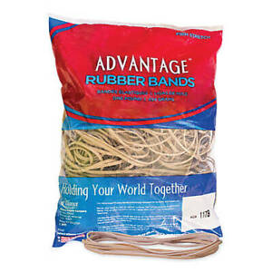 Advantage Rubber Bands Large Size 117b Crepe 7x1 8 Heavy Duty Made In Usa