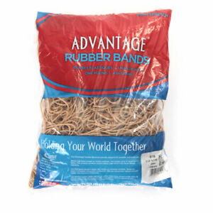 Advantage Rubber Bands Large Size 19 3 1 2 X 1 16 Heavy Duty Made In Usa