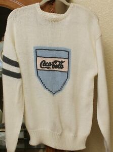 Coca Cola Knit Sweater - Size Women's Large RN 60816