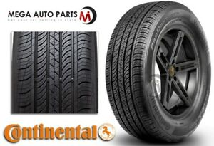 1 Continental Procontact Tx 195 65r15 89h All Season Grand Touring M S Tires