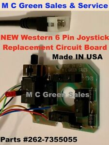 Western Snow Plow Joystick Controller Replacement Circuit Board New Usa Built