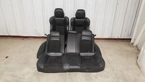 19 Dodge Charger Hellcat Seats Front Rear Left Right Black Leather Dual Power Oe