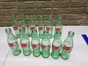 1991 SEASONS GREETINGS 8oz COCA-COLA BOTTLE 12X