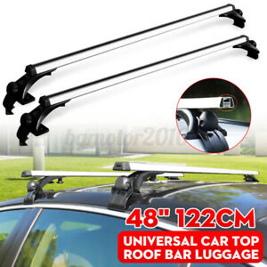 2pcs 48 Car Window Frame Mount Roof Rack Cross Bar For Toyota Scion Mazda