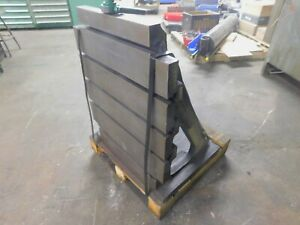 T Slotted Angle Plate 21 3 4 Wide X 28 1 4 High X 17 1 4 Deep