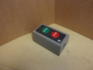 I T E Start Stop Switch In Enclosure New