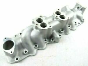 1949 1953 Ford Flathead V8 Dual Carb Intake Manifolds Satin Finish