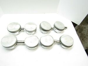 Je Forged Pistons 186446 Small Block Chevy 400 4 140 Bore 3 800 Stroke
