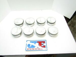 Je Forged Domed Pistons Small Block Chevy 400 12 Sprintcar Sbc